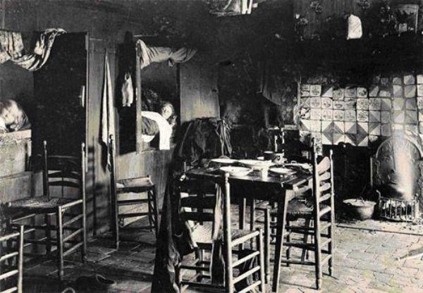 Interieur van de tweede kamer van een huis for Interieur van eigentijds huis foto