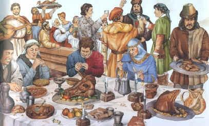 Eten in de middeleeuwen filmpje